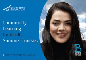 Community learning for adults summer course