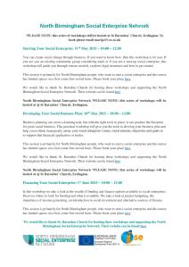 North Birmingham Social Enterprise Network workshops for website-page-001