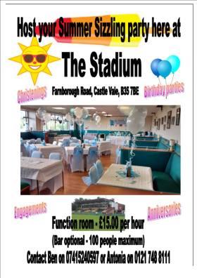 Stadium flyer