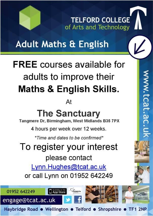 english and maths poster